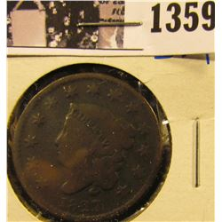 1359 . 1827 Large Cent