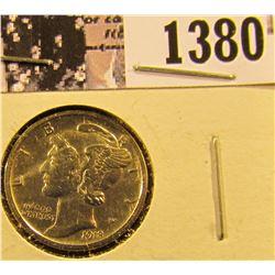 1380 . 1918-S Mercury Dime