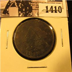 1410 . 1818 U.S. Large Cent, Good.