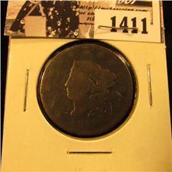 1411 . 1818 U.S. Large Cent, Good.