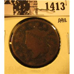 1413 . 1821 U.S. Large Cent, AG