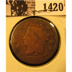 1420 . 1828 U.S. Large Cent, AG-G.