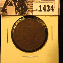 1434 . 1841 U.S. Large Cent, Very Good.