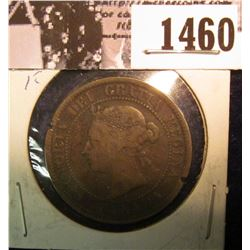 1460 . 1888 Canada Large Cent, Fine.