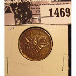 1469 . 1937 Canada Small Cent, VF.