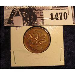 1470 . 1946 Canada Small Cent, EF.