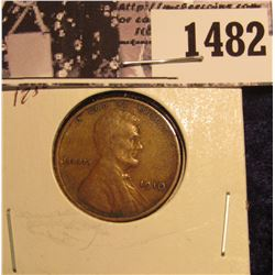 1482 . 1910 P Lincoln Cent, EF.