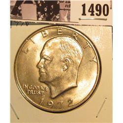 1490 . 1972 D Eisenhower Dollar, Brilliant Uncirculated.