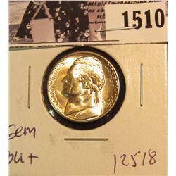 1510 . 1944 S Jefferson Nickel, Brilliant Uncirculated.