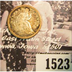 1523 . 1840 P U.S. Seated Liberty Dime, G-VG.