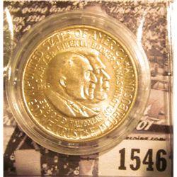1547 . 1953 S Washington/Carver Commemorative Silver Half-Dollar, Brilliant Uncirculated.