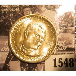 1549 . 1893 Columbian Exposition Commemorative Silver Half-Dollar, EF.