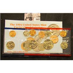 1687 . 1994 P & D U.S. Mint Set. Original as issued. Issued at $8.00