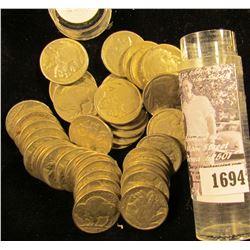 1694 . (40) 1928 Buffalo Nickels, most grade G-VG.