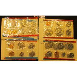 1699 . 1971, 1972, 1975 & 1980  U.S. Mint Set in original envelope as issued.