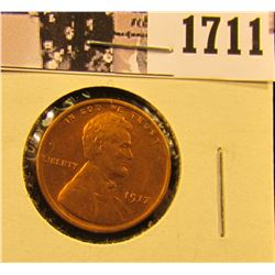 1711 . 1917 P Lincoln Cent, Mostly Red Uncirculated.