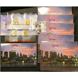1728 . 1999 P & D Susan B. Anthony Dollars, BU in original envelope of issue; 2008 Philadelphia Mint
