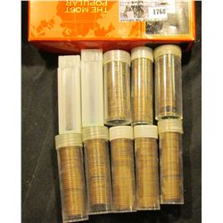 1768 . (10) Plastic tubes most of which are full and all labeled 30's to Teens. All appear to be ear