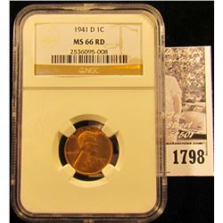 1788 . 1936 S Lincoln Cent NGC slabbed MS65 RD.