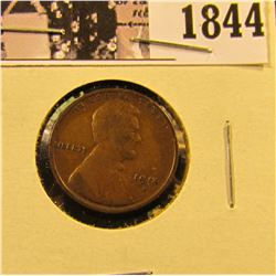 1844 . 1914 D Lincoln Cent, Fine.