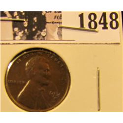 1848 . 1931 S Lincoln Cent, EF.