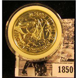 1850.1495-1995 Republic of Portugal Silver 1000 Escudos. Encapsulated. Gem BU.