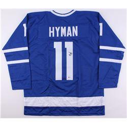 Zach Hyman Signed Maple Leafs Jersey (Beckett COA)
