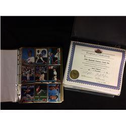 1994 BASEBALL FACTORY CARD SET W/ COA