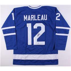 Patrick Marleau Signed Maple Leafs Jersey (Beckett COA)