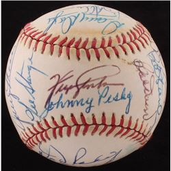 Rawlings OAL Baseball Signed by (20) W/  (JSA ALOA)