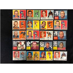 1957 TOPPS FOOTBALL CARDS LOT