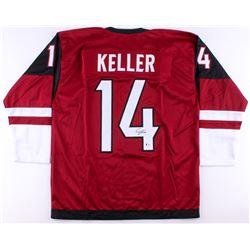 Clayton Keller Signed Coyotes Jersey (Beckett COA)