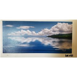 """Sea of Tranquility"" by Douglas Page, Giclee Canvas, 30x14, $550 Retail, 17/350, Signed and Numbered"