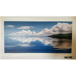 """Sea of Tranquility"" by Douglas Page, Giclee Canvas, 30x14, $550 Retail, 20/350, Signed and Numbered"