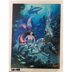 """""""Perils of Pearls"""" by Tom Thordarson, Giclee Canvas RM, 24x32, $450 Retail, 19/100, Signed and Numbe"""