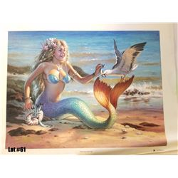 """""""Sharing Herring"""" by Tom Thordarson, 1 of 50 Giclee Canvas RM, 24x18, $1200 Retail, Signed and Numbe"""