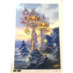 """""""Tiki Towers"""" by Tom Thordarson, 6 of 50 Giclee Canvas, 18x27, $350 Retail, Signed and Numbered"""