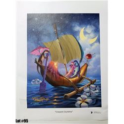 """""""Crescent Courtship"""" by Tom Thordarson, 38 of 250, Canvas Giclee, 11X14, $150 Retail, Signed and num"""