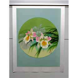 Orchid by David Lee, Ltd. Ed. 215 of 250, Signed and Numbered, $650 Retail
