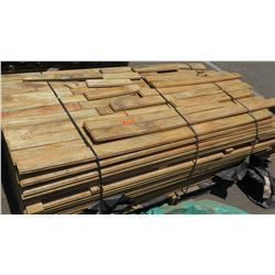 Large Pallet of Wood Flooring, High Grade, Tongue and Groove