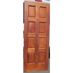 "Wood Paneled Door 80"" x 30"" x 1 3/4"""