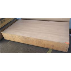 "Qty 12 Umbrian Oak Melamine Plywood Sheets 3/4"" (4' x 8') $1400 Value"