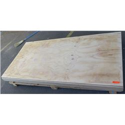 "Qty 5 Plywood Sheets 3/4"" (4' x 8')"