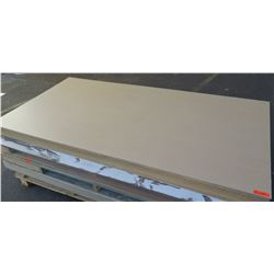 "Qty 21 Maple Melamine MDF Sheets 1/4"" (4X8)"