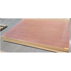 "Engineered Wood Panels (1 1/4"" or 1"" thick) 7pcs"