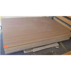"Engineered Wood Panels (1"" or 1 5/8"" thick) 8pcs"