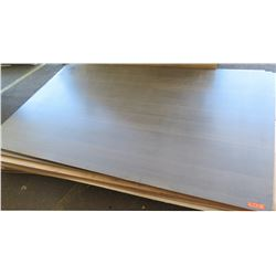 "Qty 5 Dark Melamine MDF Sheets 1/4"" (61X97)"