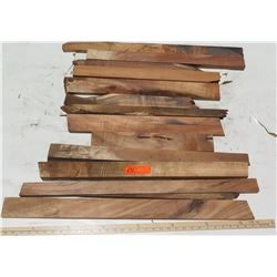 Various Lengths Raw/Unsanded Koa Wood