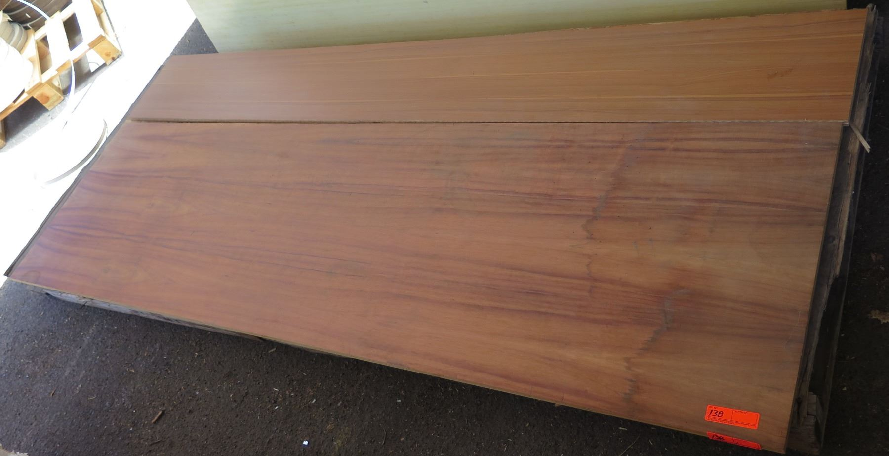 Qty 2 Koa Wood Veneer Florentine Rosewood Melamine Plywood