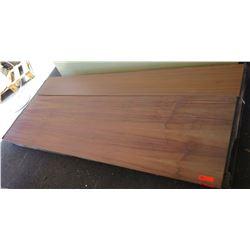 "Qty 2 Koa Wood Veneer & Florentine Rosewood Melamine Plywood Sheets 3/4"""